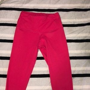 Yogalicious mid-rise pink leggings